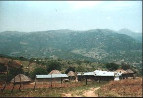 Typical Swaziland Kraal